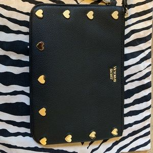 Victoria Secret zipper clutch